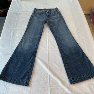 Seven for mankind 7FAMK dojo jeans 24 flare